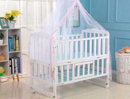 Какъв материал е най-подходящ за бебешко легло
