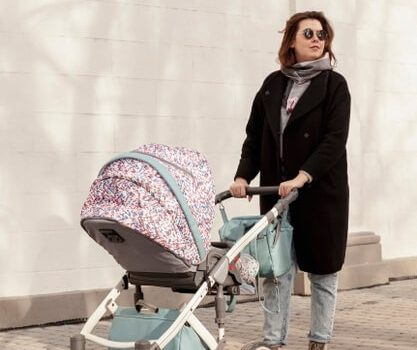 Как да изберете комфортна бебешка количка?